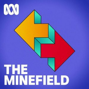 Logo for The Minefield.